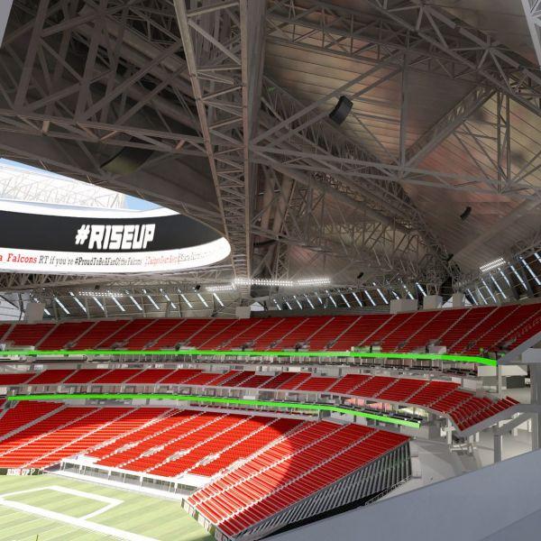 Mercedes Benz Stadium Art Program