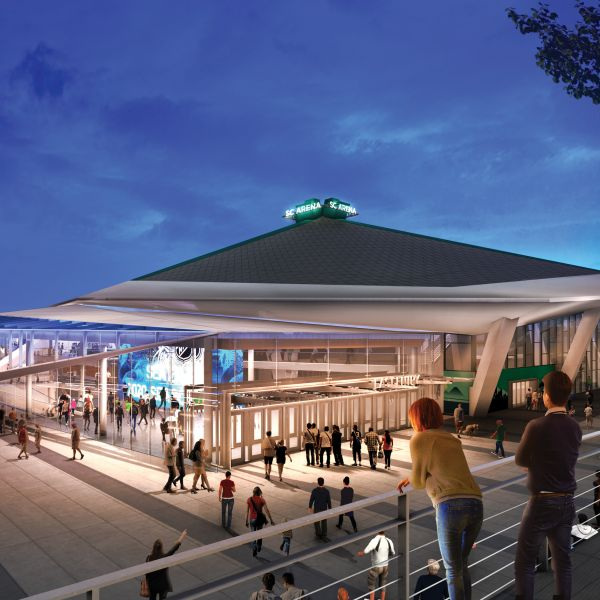 Seattle Center Arena Rendering