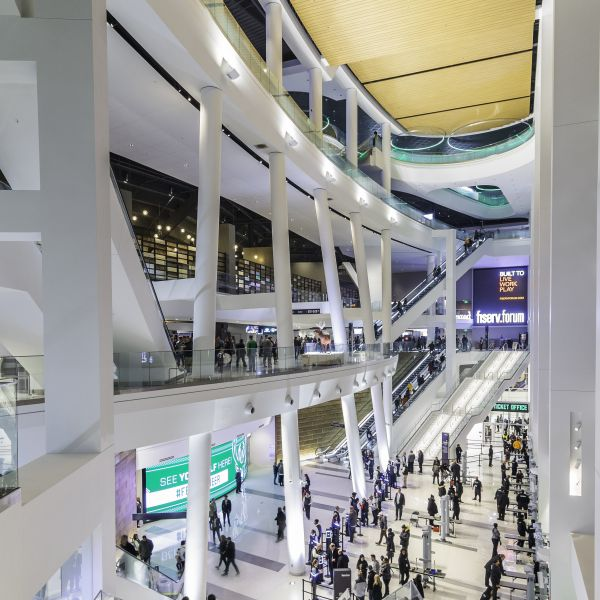 Fiserv Forum Concourse 2