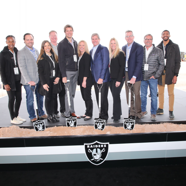 Raiders HQ Groundbreaking