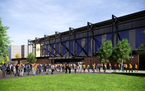 Nashville MLS North supporters entry gate