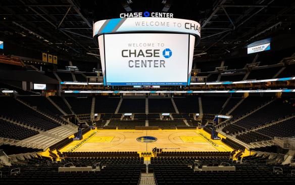 Chase Center center court