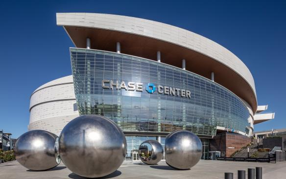 Chase center spheres